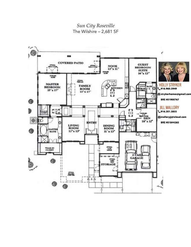 Sun city roseville floor plans sun city lincoln hills for Floor design sf