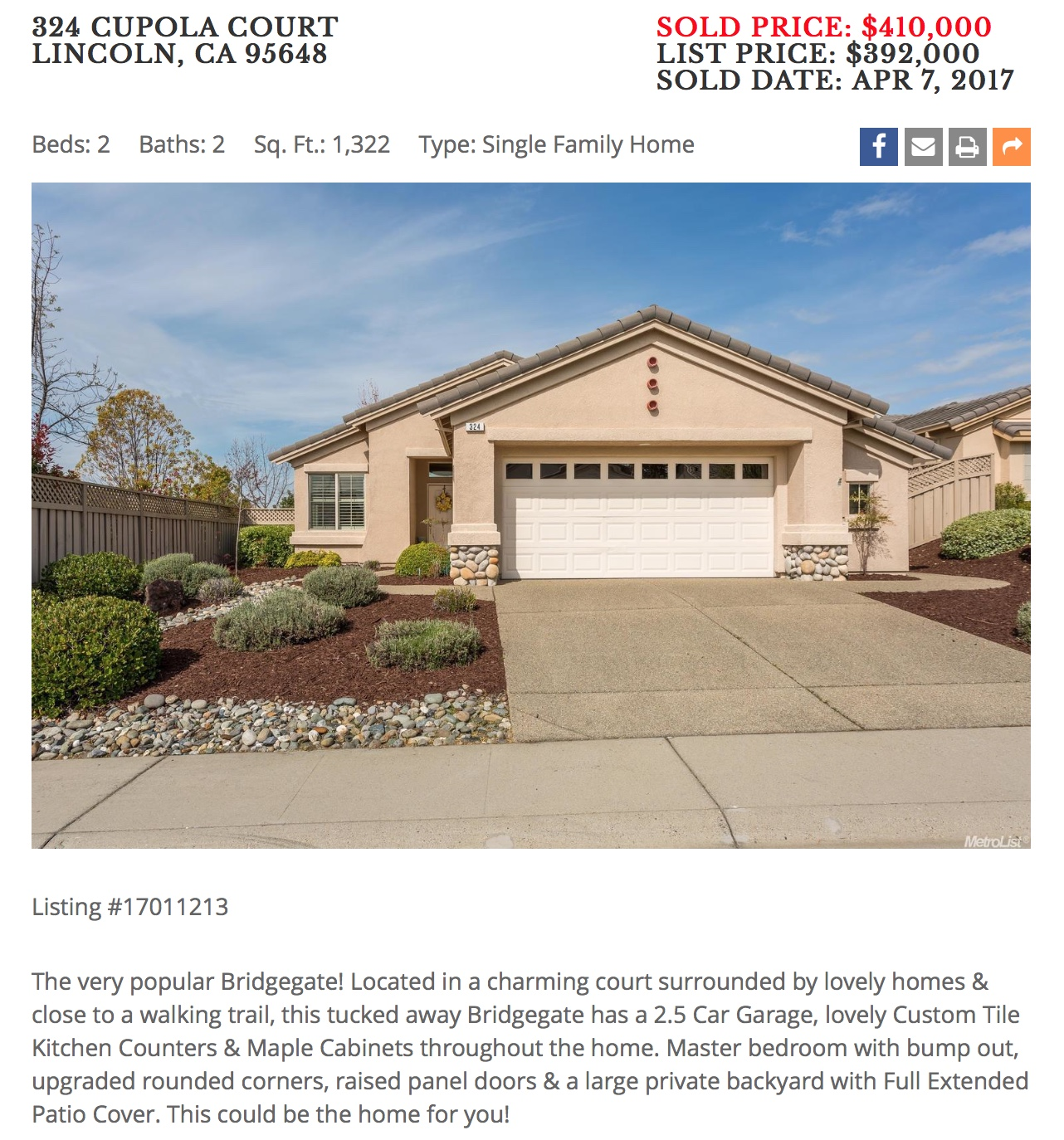 my blog • sun city lincoln hills real estate